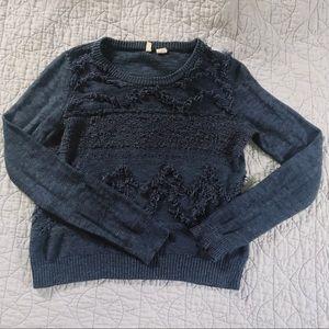 Anthropologie Blue Sweater